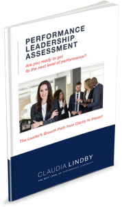 The Performance Leadership Assessment by Claudia Lindby